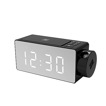 Uokoki Inteligente Altavoz Despertador Audio del Altavoz del ...