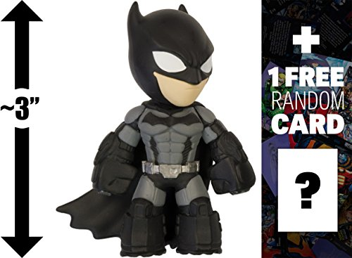 "Batman - Arkham Origins: ~3"" Batman Arkham x Funko Mystery Minis Vinyl Figure + 1 FREE Official DC Trading Card Bundle [70724]"