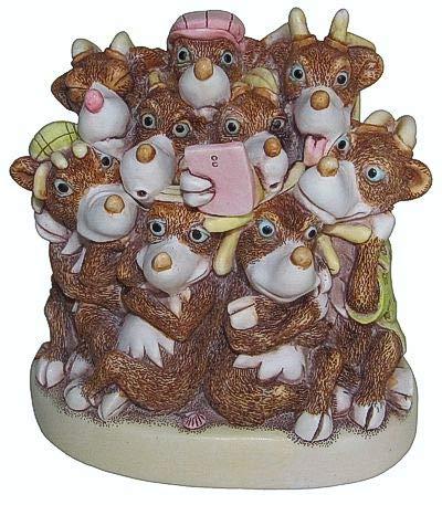 Christmas Harmony Cast.Amazon Com Harmony Kingdom Recharge Christmas Reindeer