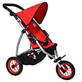 The New York Doll Collection A181 Doll Jogging Stroller