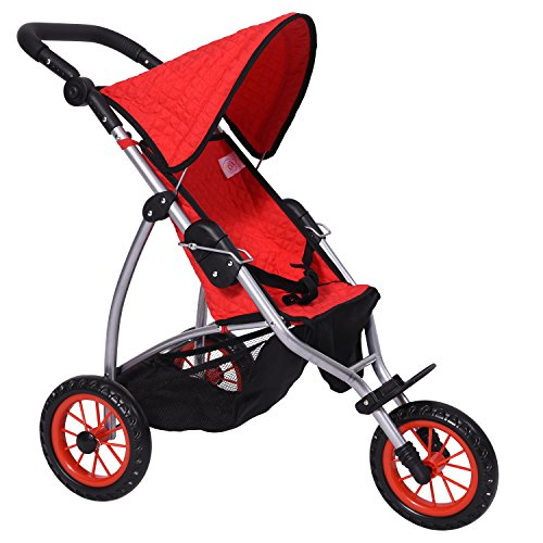 4 Wheel Pram Reversible Handle - 1