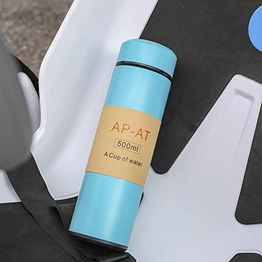 CQAZX 500ML Mi Botella de Agua Frasco de vacío de Acero Inoxidable ...