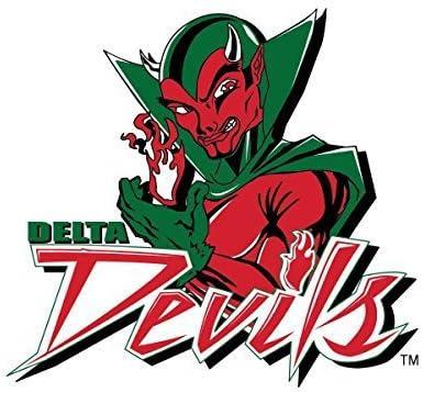Victory Tailgate Mississippi Valley State University Delta Devils Die-Cut Vinyl Decal Logo 2