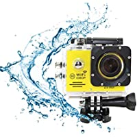 i-TecoSky 1080P Full HD WIFI Action Camera Sport Camera Cam SJ7000 2.0 LCD 30M Waterproof Outdoor Mini Helmet Action Video Camera Diving Recorder Sports Action Camera Cam Camcorder DVR DV