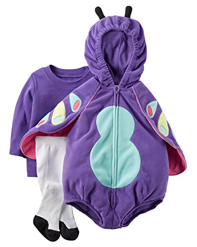 Carter's Baby Girls Costumes 119g118, Purple, 6-9 (Fancy Dress Cave Girl)