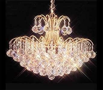 James r moder mardella sixteen light crystal chandelier amazon james r moder mardella sixteen light crystal chandelier mozeypictures Images