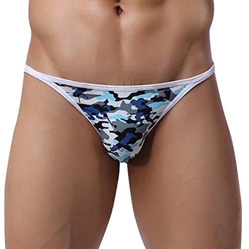 6a4085c5e914 Daniel Alexander DA608 Brazilian Back String Bikini Navy Mens ...