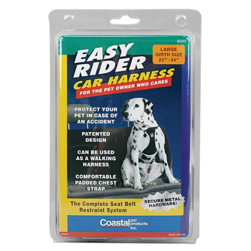 Easy Rider Car Harness – X-Large, My Pet Supplies