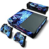 Mod Freakz Console and Controller Vinyl Skin Set - Magical Devil Fighter for Xbox One