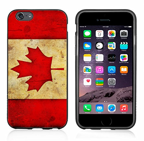 Canada Canadian Flag Grunge Case/Cover For Iphone 6 or 6S by Atomic Market (Iphone 6 Cases Canada)