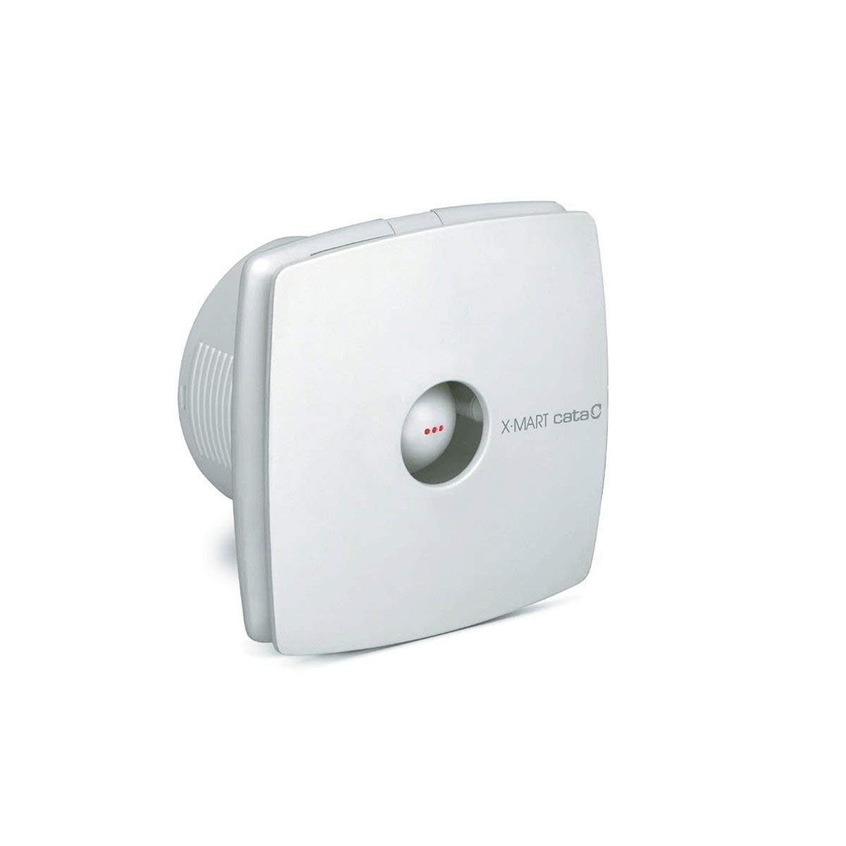 320 m/³//h mit integrierter R/ückstaufolie und modernem Design QUICK FIX GRIP Ventilator L/üfter 150 mm CATA X-Mart 15 Wei/ß