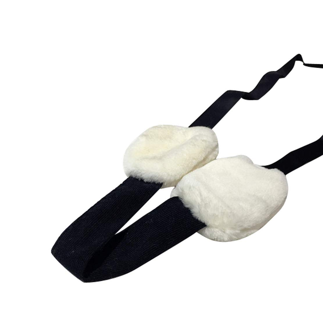 ACVIP Womens Fluffy Ribbon Laced String Outdoor Protective Earmuff