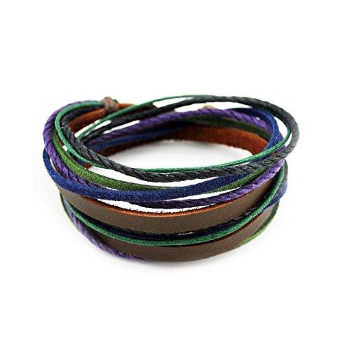Goddess Costume Tutorial (The November Nocturne Multi Strand Purple Rope Button Adjustable Unisex Leather Wrap Bracelet)
