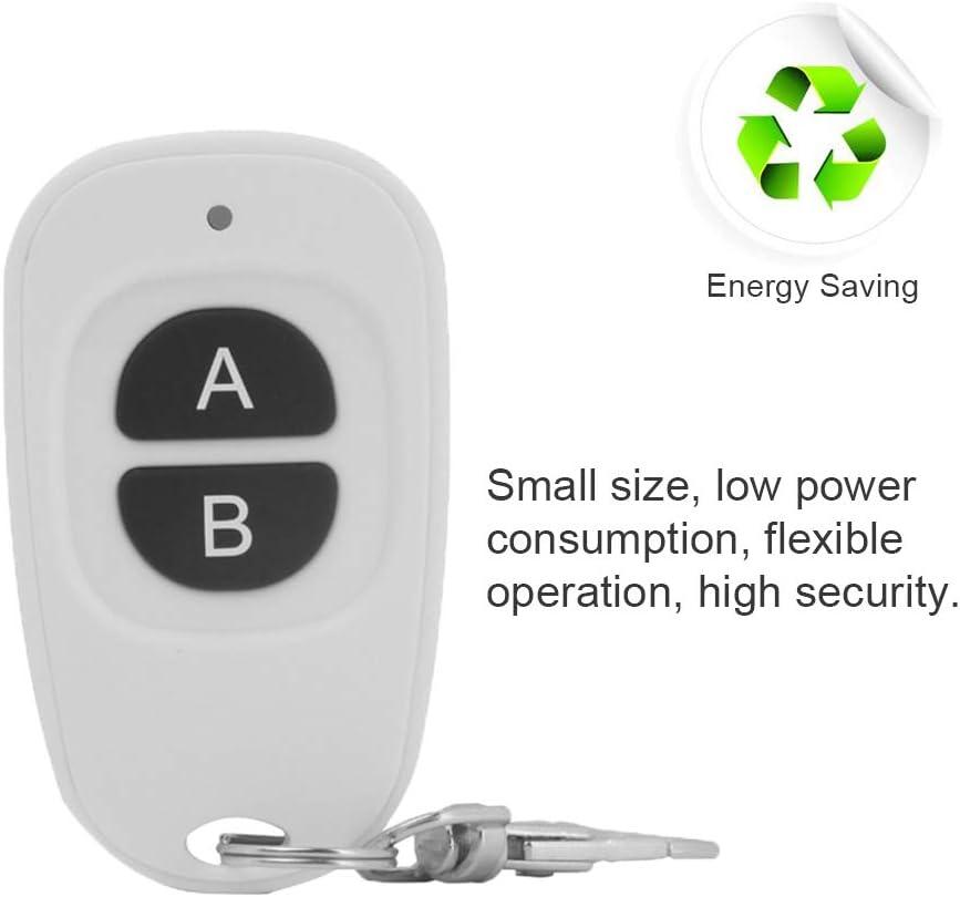 eMylo 2 cl/és /émetteur sans fil RF t/él/écommande 433 MHz /émetteur distance jusqu/à 30-50 m pour porte de garage /électrique rideau /électrique serrure pompe /à eau moteur 1 pi/èce
