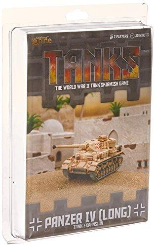 Gale Force 9 German Panzer IV (Long) Tank Expansion Board Games (Iv Tank German Panzer)