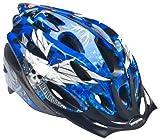 Mongoose Youth Thrasher Helmet, Blue Skulls