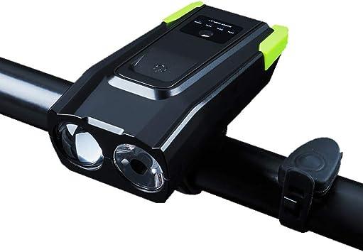 YUANZHU Luz de Bicicleta Recargable USB, Linterna Potente para ...