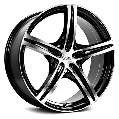 Mitsubishi Eclipse Alloy Wheel - Cruiser Alloy Eclipse 17 Machined Black Wheel / Rim 5x112 & 5x4.5 with a 42mm Offset and a 73.1 Hub Bore. Partnumber 917MB-7755942