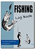 Fishing Log Book, Fishing Diary / Journal, A5 Fishermans Log Diary, Anglers Log Journal, Cover 08