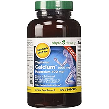 Amazon.com: Phyto-Therapy Vegetarian Calcium with
