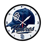 San Diego Padres Official MLB Clock by Wincraft
