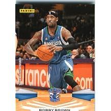 2009 /10 Panini NBA Basketball Card # 211 Bobby Brown Minnesota Timberwolves Mint Condition