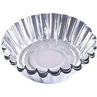 50st Disposable Egg Tart Vormen Aluminium huis Baking Foil Cups Pan Non Stick Cake Cookie Liner hittebestendig huis…