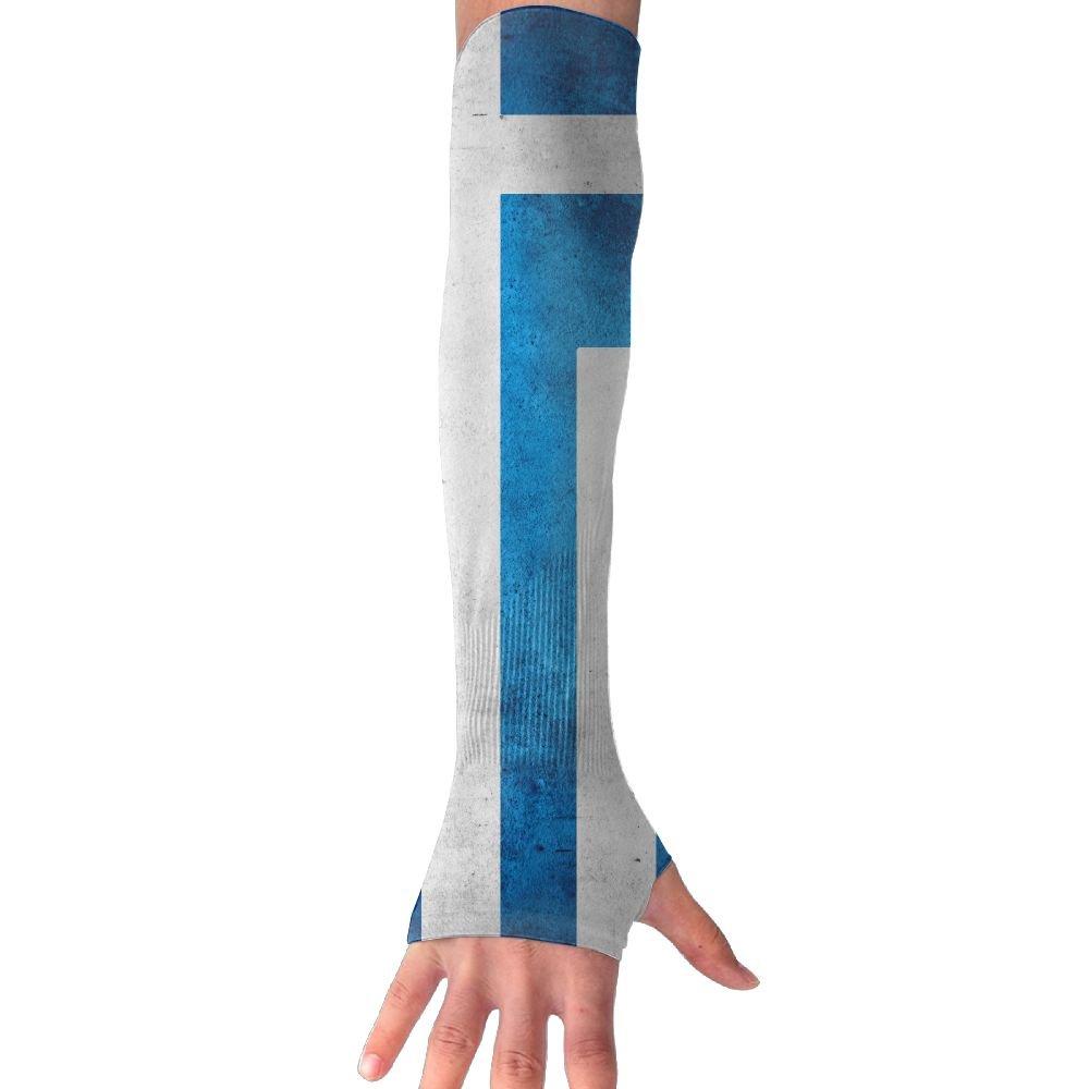 Vintage Style Greek Sacred Flag Sun Sleeves,UV Protection Cooling Arm Sleeves For Men Women (1 Pair)
