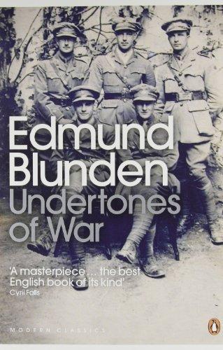 Undertones of War (Penguin Modern Classics) by Blunden, Edmund (2000) Paperback