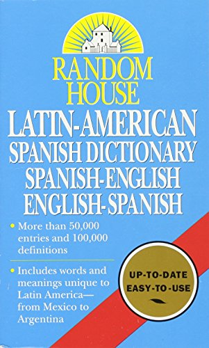 Latin- American Spanish Dictionary: Spanish-English, English-Spanish