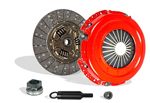 Clutch Kit Set Works With Ford F250-F750 Super Duty Lariat XL XLT Base 1999-2003 7.3L V8 Diesel OHV Turbocharged (Stage 1)