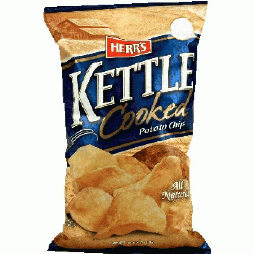 Herrs Kettle Cooked - Herr's Kettle Cooked Potato Chips 1.125 Oz (Pack of 30)