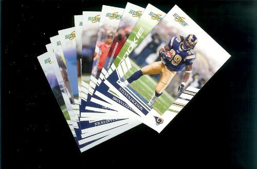 St. Louis Rams Football Cards - 3 Years of Score Complete Team Sets 2006,2007, 2008 - Includes Stars, Rookies & More - Individually Packaged!