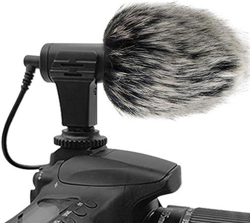 micrófono portátil para máquina fotográfica, Conejo pelo gráfica ...