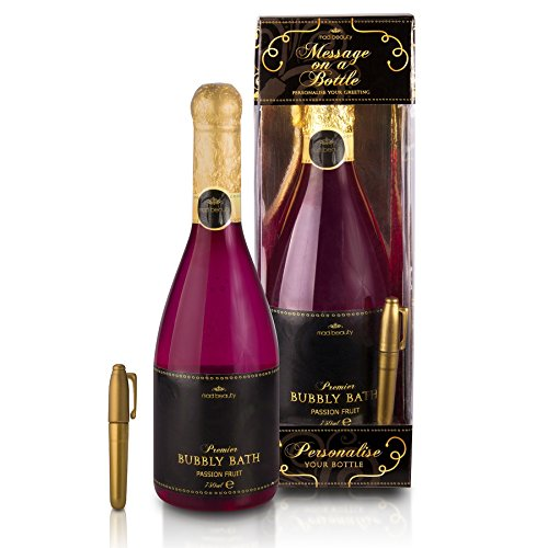Message On a Bottle Champagne Bubbly Bath -
