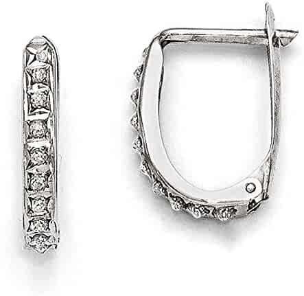 Lex /& Lu 14k Gold D//C and Polished Twisted Hoop Earrings LAL118935