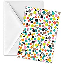 Jillson Roberts 12-Count Gift Enclosure Cards and Envelopes Available in 10 Different Designs, Party Poppers