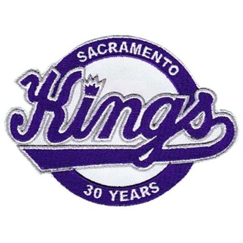 Sacramento Kings 30th Team Anniversary Season Logo Patch - Logo 30th Patch Anniversary