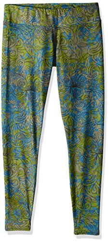 Hot Chillys Women's MTF4000 Fiesta Print Tights, X-Small, Katmandu