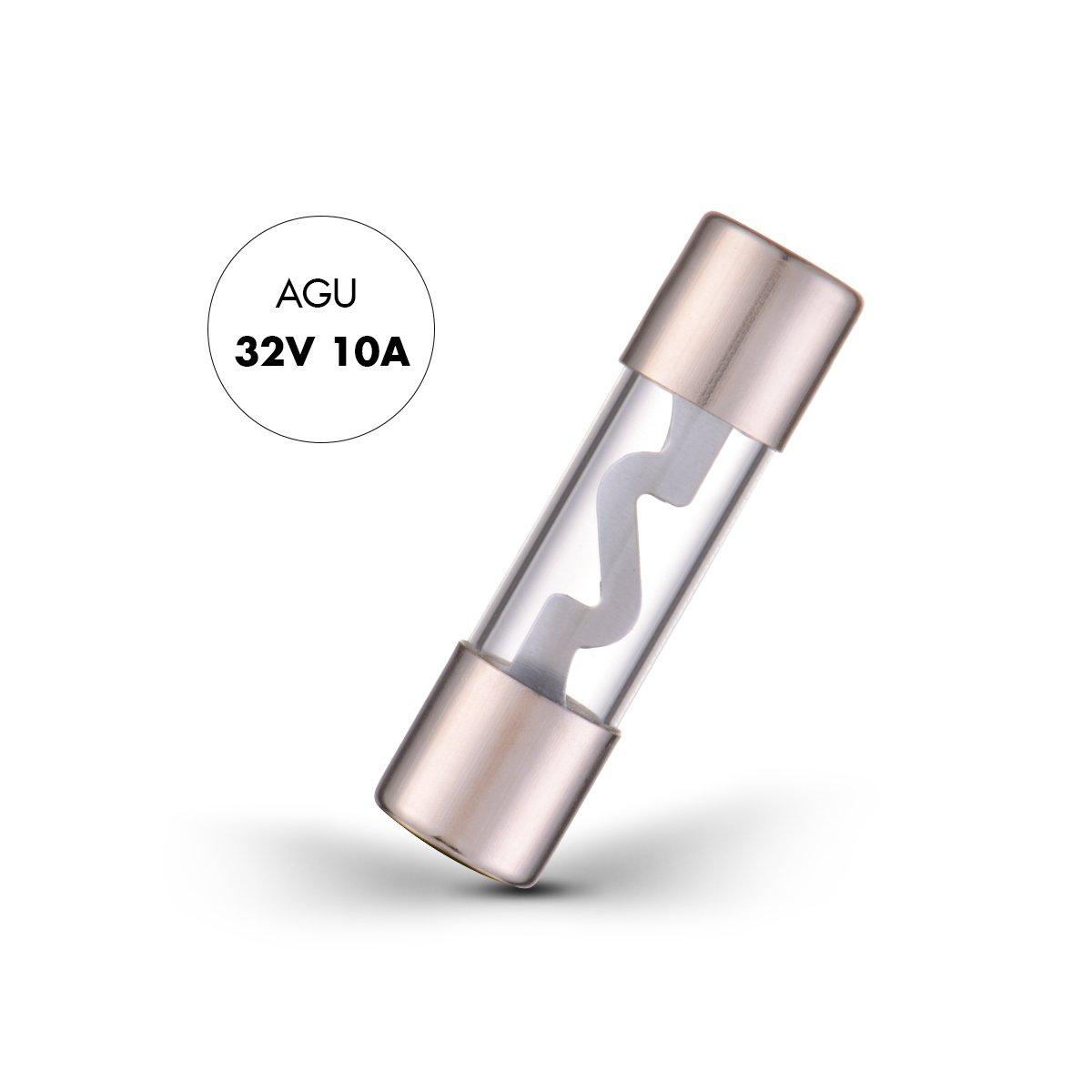 Sunix 10 Amp AGU Fuse 5 Pack