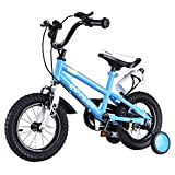 12'' Freestyle Children Boys & Girls Bicycle w/ Training Wheels - By Choice Products