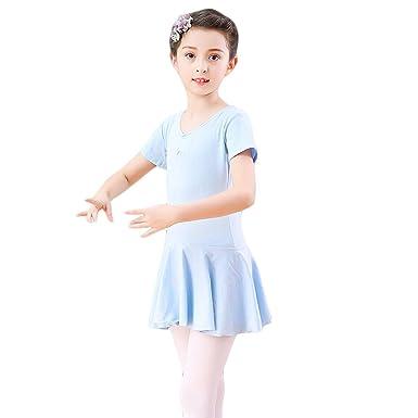 mama stadt Traje de Ballet Niña Maillot Vestido Falda de Danza ...