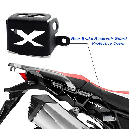 KEMIMOTO CRF1000L Rear Brake Reservoir Guard Cover Accessories for Honda Africa Twin 2016 - Guard Brake Rear