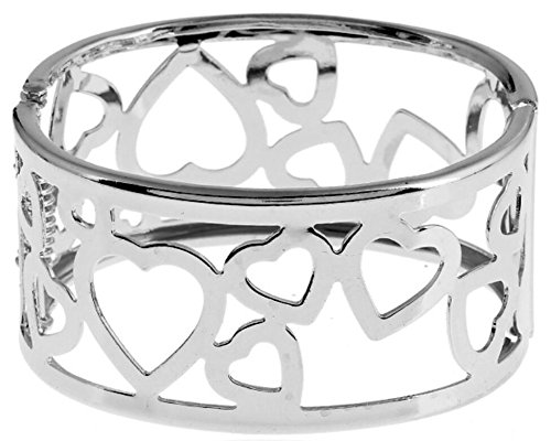 Hollow Curve Element Stylish Love Rope Charm Bracelet Feminino Bangle Jewelry for Women (Link Sterling Silver Curves)