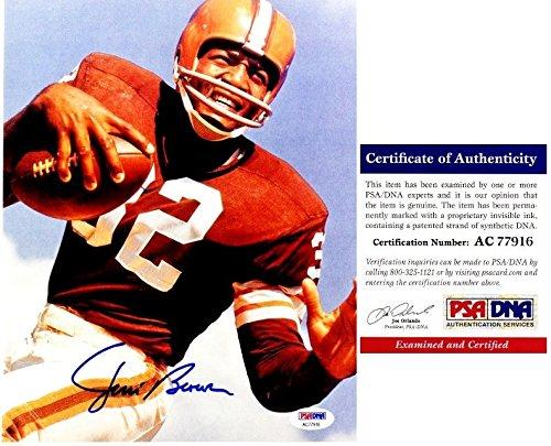 Jim Brown Cleveland Browns Framed - 8