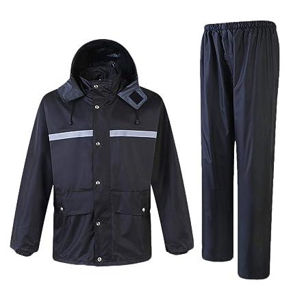 Amazon.com: DUOER home Hi Vis Viz & Plain Rainsuit 2 Piece ...