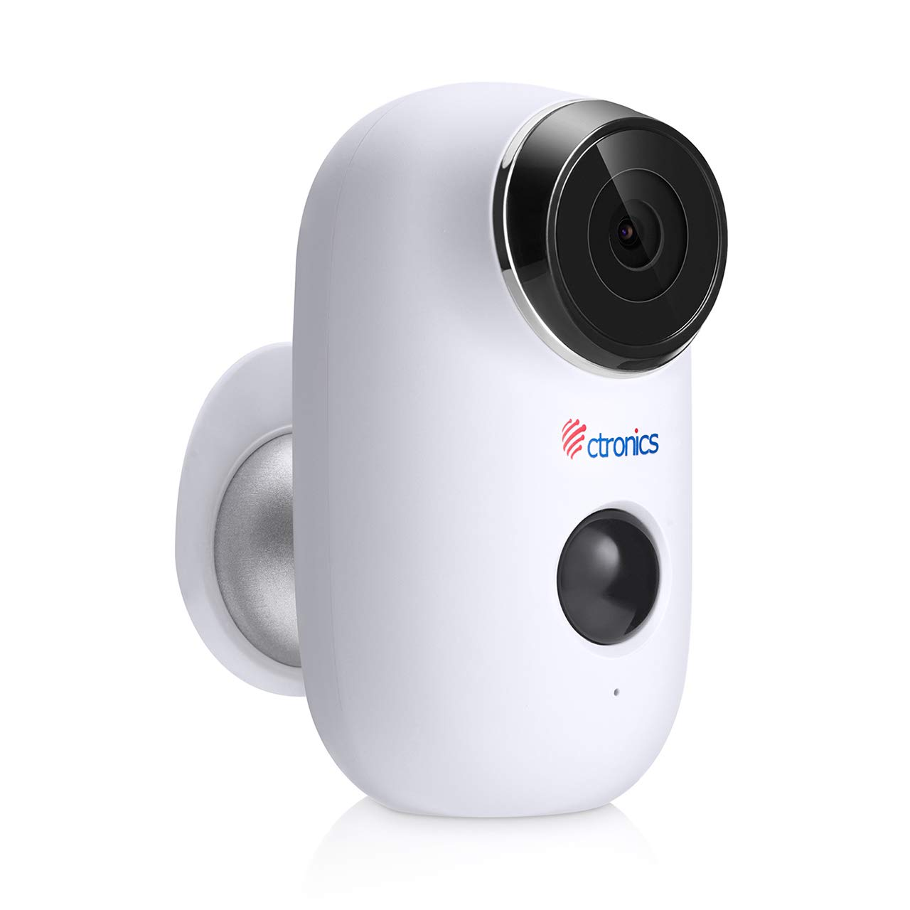 Ctronics Outdoor Security Camera, Wireless Rechargeable Battery Powered Surveillance System