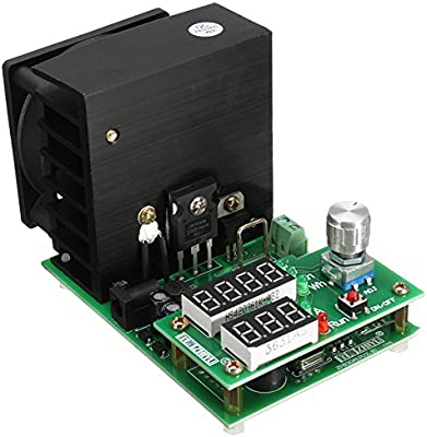 110W 9.99A 30V Constant Current Electronic Load Aging Batte Original ZHIYU 60W