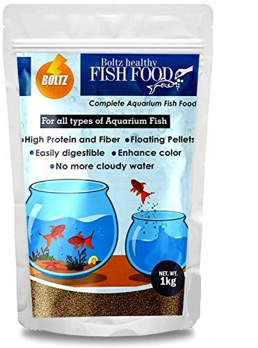 Buy Boltz Fish Food For Growth Health Nutritionist Choice 1 Kg Online At Low Prices In India Amazon In