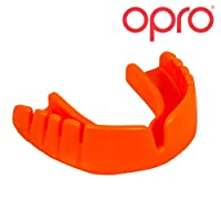 Opro Snap-Fit Mouthguard for Ball, Stick and Combat Sports (Adult and Kids Sizes)- No Boiling or Fitting Required